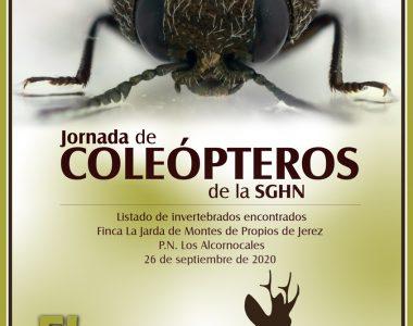 Memoria de la Jornada de Coleópteros de la SGHN, en vol.8 de El Corzo.