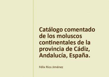 Nuevo artículo: Catálogo de moluscos continentales de Cádiz.
